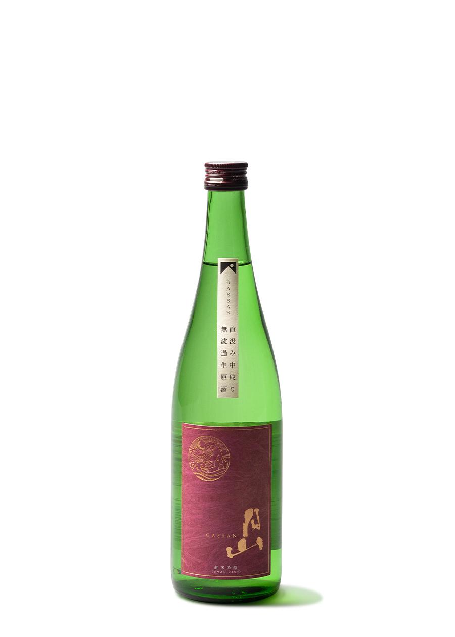 月山 純米吟醸 中取<br>生原酒 720ml