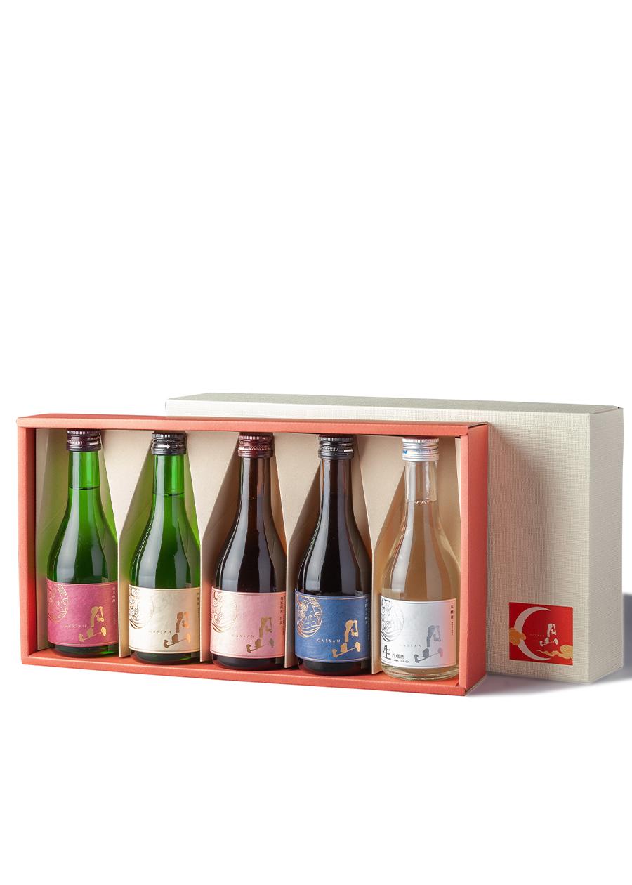 お楽しみ300ml5本セット<br>純米吟醸,吟醸,本醸造<br>特別純米出雲,辛口純米<br>【箱入】