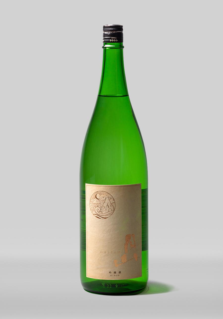 月山 吟醸酒<br>1800ml