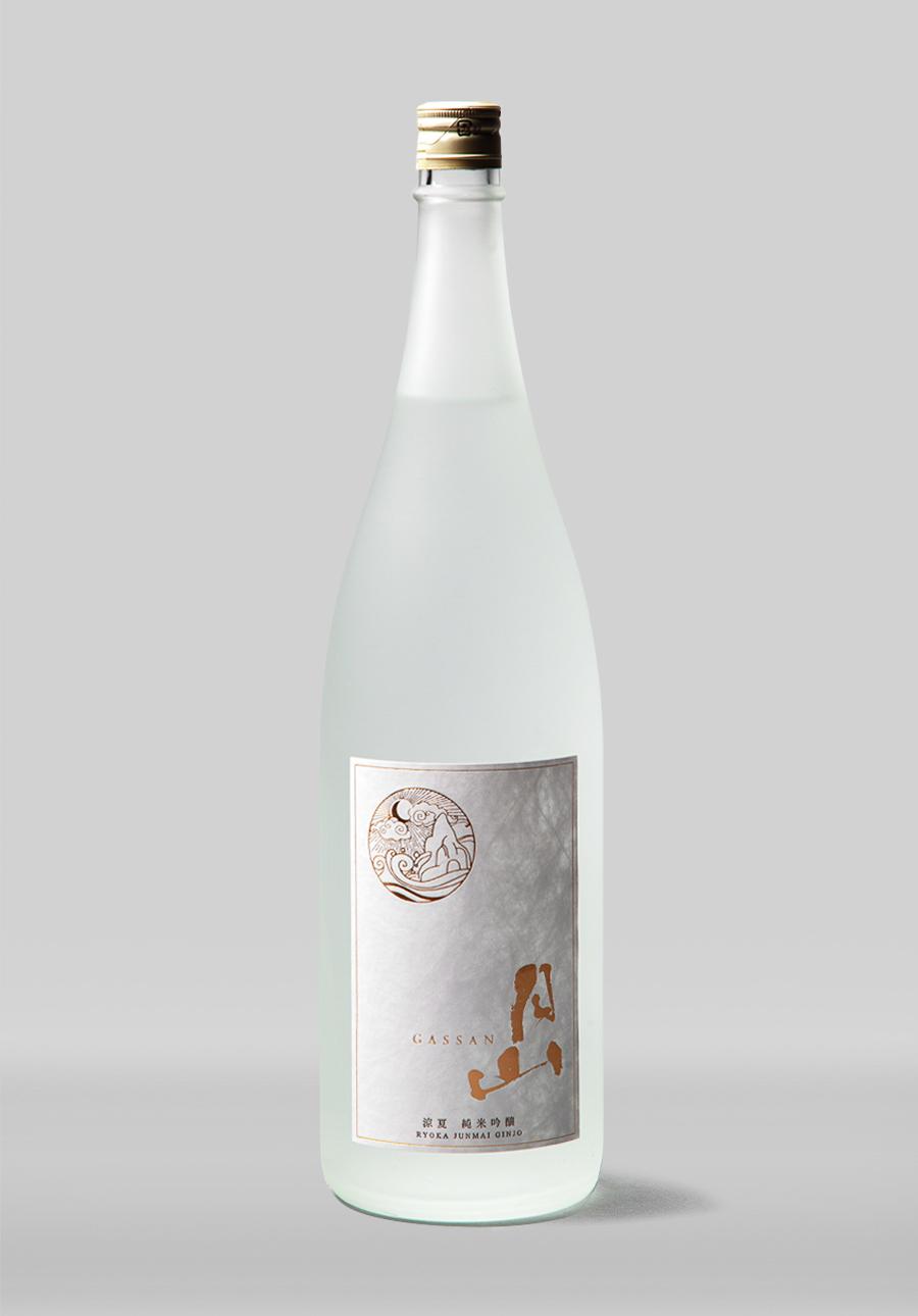 月山 涼夏 純米吟醸<br>1800ml